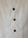 Bow Tie Shift, button detail