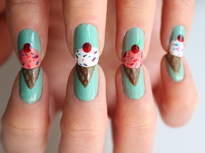 Summer Nail Designs For Short Nails 2014 Burgheoisie