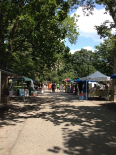 Cedar Arts Market at Deutschtown Music Festival, Before the Music